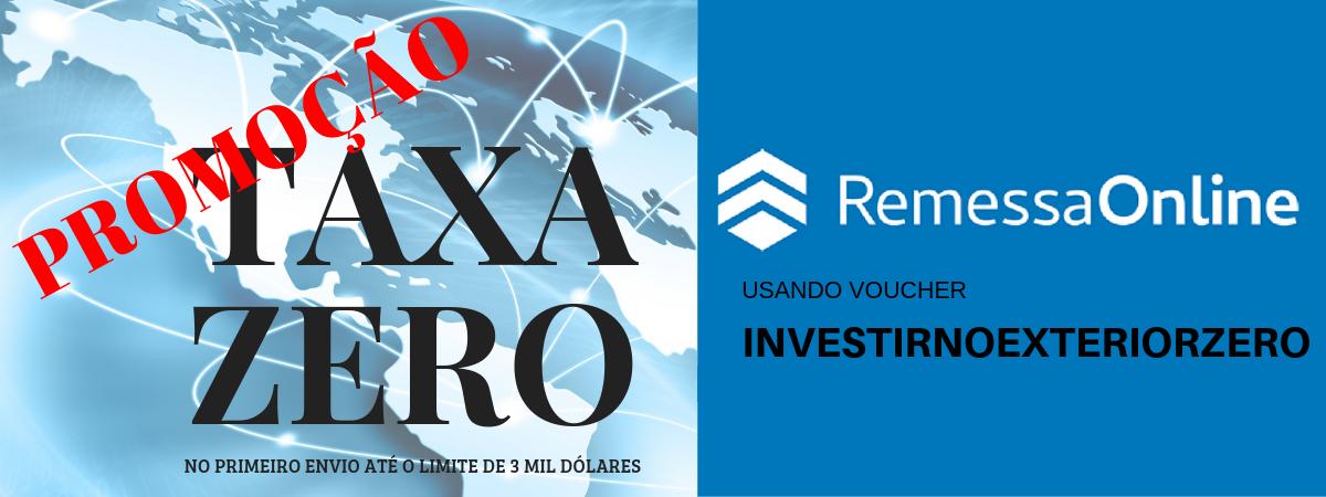 Taxa zero no envio de dinheiro pela Remessa Online