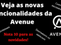 Novas funcionalidades da Avenue