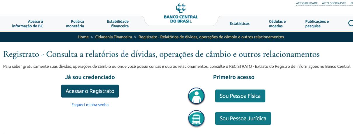Registrato Banco Central
