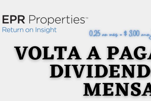 dividendos mensais