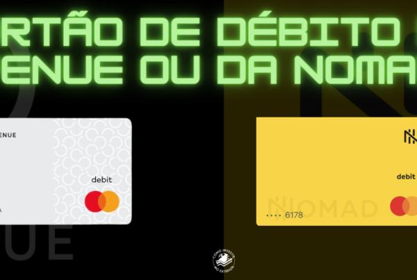 Cartão de débito da Avenue
